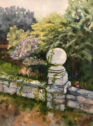 """""""Garden Wall"""" 24 x 18 o/c"""